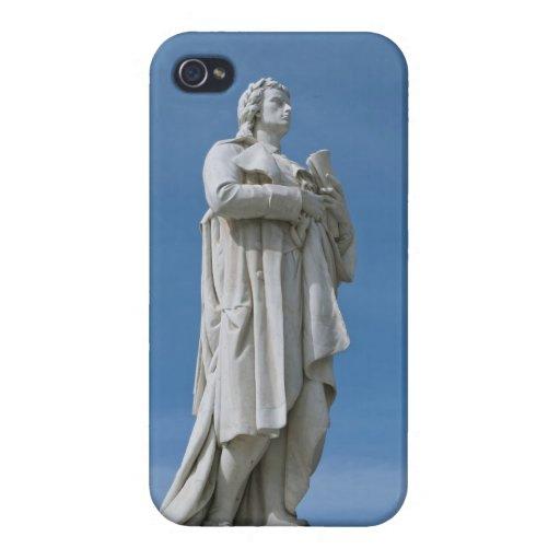 Schiller Statue in Berlin iPhone 4 Cover