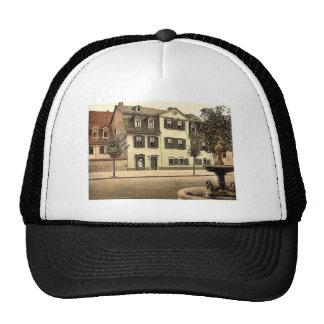 Schiller's House, Weimar, Thuringia, Germany rare Trucker Hat