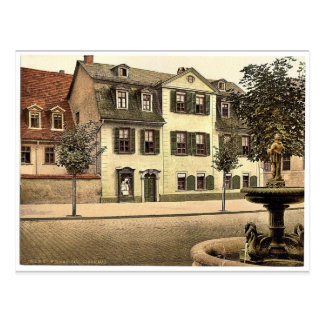 Schiller's House, Weimar, Thuringia, Germany rare Postcard