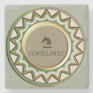 Schilling Horse/ knight Chess piece coaster