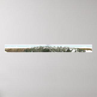 SCHILTHORN Swiss Alps Panorama 360° Poster