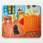 Schipperke 2 - Room at Arles Mouse Pad