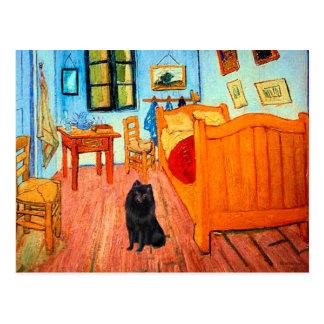 Schipperke 2 - Room at Arles Postcard