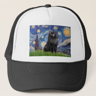 Schipperke 2 - Starry Night Trucker Hat