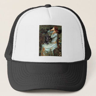 Schipperke 4 - Ophelia Seated Trucker Hat