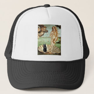 Schipperke 5 - Birth of Venus Trucker Hat