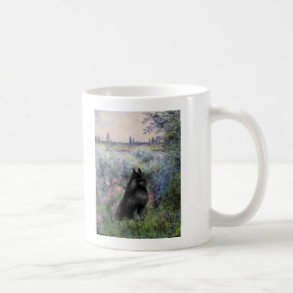 Schipperke 6 - By the Seine Coffee Mug