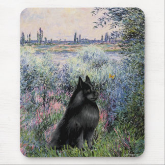 Schipperke 6 - By the Seine Mouse Pad