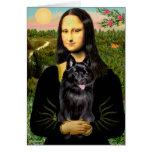 Schipperke 7 - Mona Lisa Greeting Card