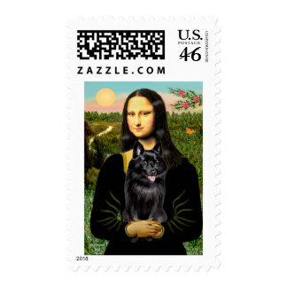 Schipperke 7 - Mona Lisa Postage