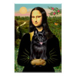 Schipperke 7 - Mona Lisa Poster