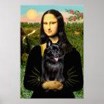 Schipperke 7 - Mona Lisa Posters