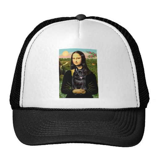 Schipperke 7 - Mona Lisa Trucker Hat