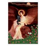Schipperke 7 - Seated Angel Greeting Card