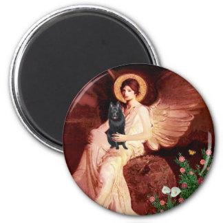Schipperke 7 - Seated Angel Magnet