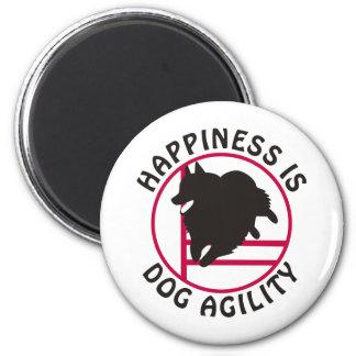 Schipperke Agility Happiness Magnet