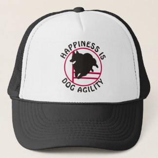 Schipperke Agility Happiness Trucker Hat