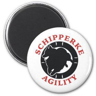 Schipperke Agility Love Magnet