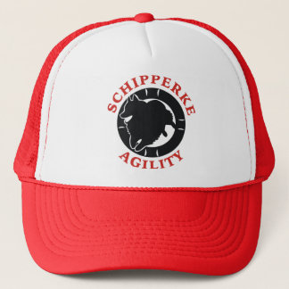 Schipperke Agility Love Trucker Hat