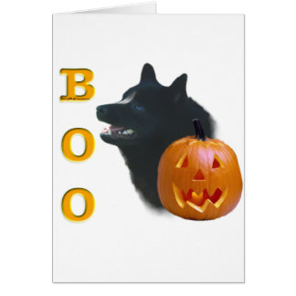 Schipperke Boo Card
