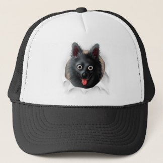 Schipperke Busting Out Trucker Hat