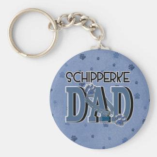 Schipperke DAD Key Chains