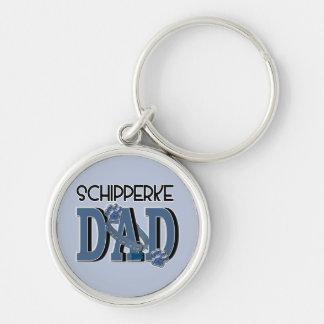 Schipperke DAD Keychains