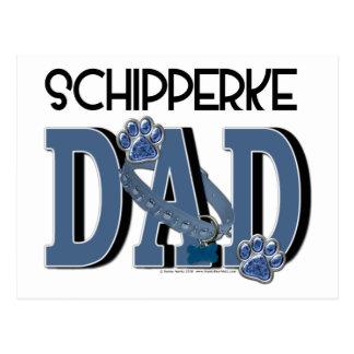 Schipperke DAD Postcard
