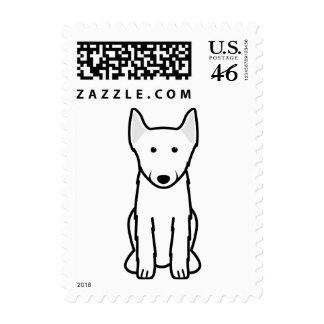 Schipperke Dog Cartoon Postage Stamps