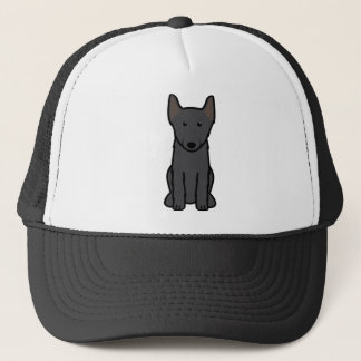 Schipperke Dog Cartoon Trucker Hat