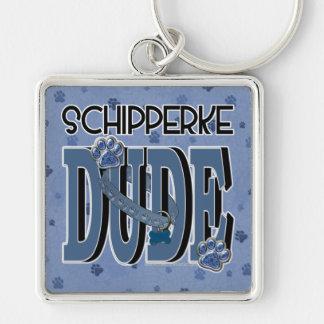 Schipperke DUDE Key Chain