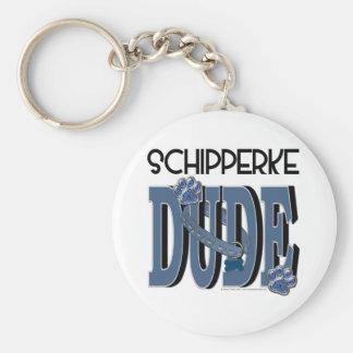 Schipperke DUDE Keychain