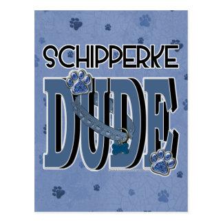 Schipperke DUDE Postcard
