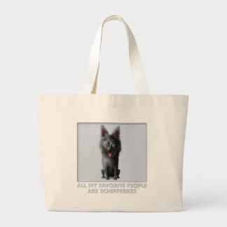 Schipperke Favorite Large Tote Bag