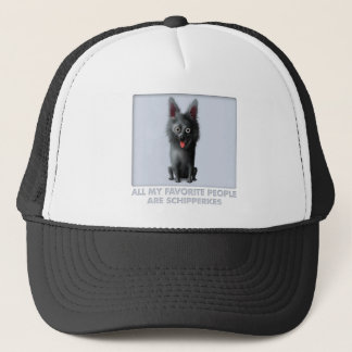 Schipperke Favorite Trucker Hat