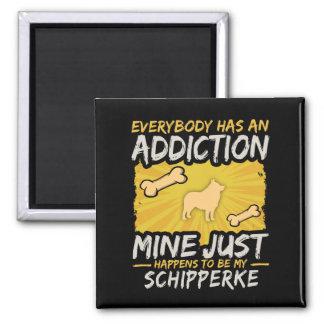 Schipperke  Funny Dog Addiction Magnet
