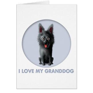Schipperke Granddog Card