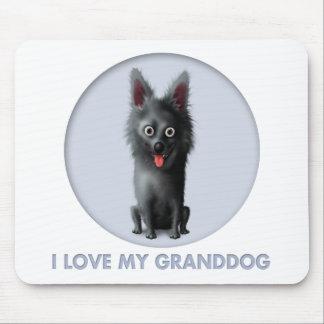Schipperke Granddog Mouse Mats