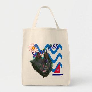 Schipperke grocery bag
