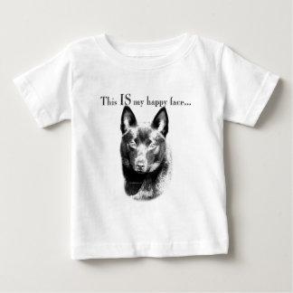 Schipperke Happy Face Baby T-Shirt