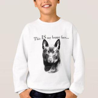 Schipperke Happy Face Sweatshirt