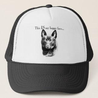 Schipperke Happy Face Trucker Hat