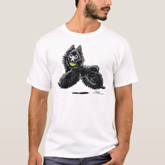 Schipperke Lets Play T-Shirt