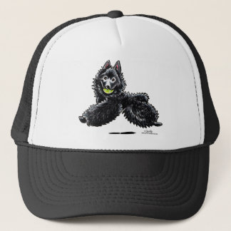 Schipperke Lets Play Trucker Hat
