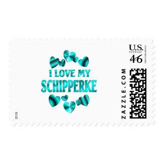 SCHIPPERKE Love Stamps