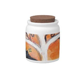 Schipperke love spiritual tree beauty of orange candy dish