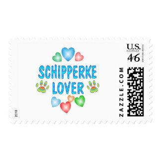 SCHIPPERKE LOVER POSTAGE STAMPS