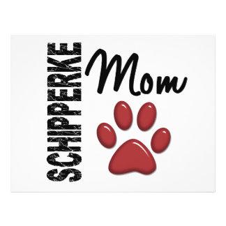 Schipperke Mom 2 Flyer Design