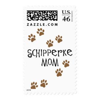 Schipperke Mom Postage Stamp