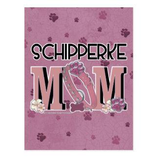 Schipperke MOM Postcard